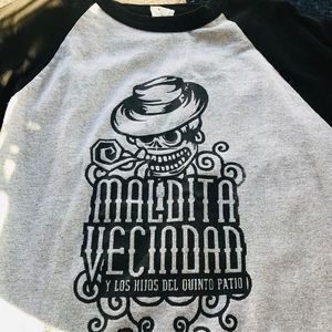 Other - La Maldita Vecindad baseball t-shirt